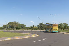 Touristic Journey at Itaipu Park Royalty Free Stock Images