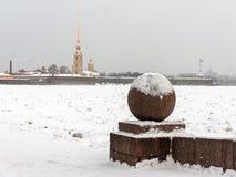 Saint Petersburg Vasilievsky Island Spit Royalty Free Stock Photo