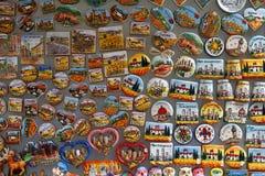 Touristic magneter Royaltyfri Bild