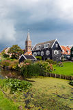 Touristic Marken village Netherlands Royalty Free Stock Images