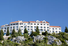 Touristic Resort. View of the hotel in Croatia Stock Photo