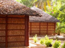 Touristic resort in Senegal. In Djiffer village, on Senegal. West Africa. 2013 Stock Photo