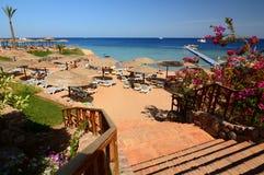 touristic semesterort Sharm El Sheikh rött hav egypt fotografering för bildbyråer
