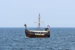Touristic ship VIKING III Royalty Free Stock Photo