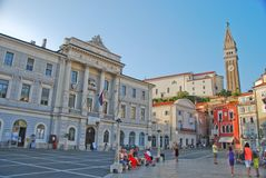 Touristic stad Royaltyfri Bild