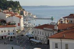 Touristic stad Royaltyfria Bilder