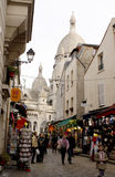 Touristic street Royalty Free Stock Images