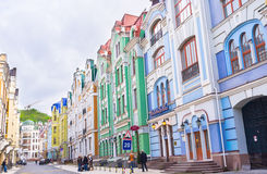 Touristic street Stock Image