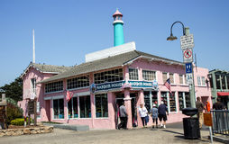 Touristic street. Sweeties for holiday time in Monterey port, California Royalty Free Stock Photo
