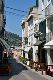 Street in Tossa de Mar, Catalonia, Spain Stock Photography