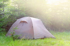 Touristic tent Stock Photo