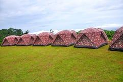 Touristic tent Stock Photo