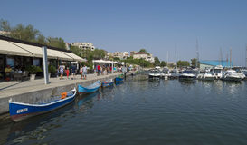 Touristic Tomis Port  in Constanta, Romania. Stock Photography