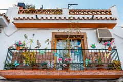 Touristic town Nerja in Costa del Sol, Spain. Touristic town Nerja in Costa del Sol, Andalusia, Spain stock photos
