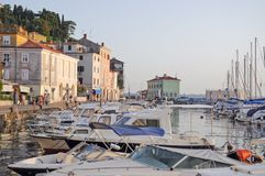 Touristic town Royalty Free Stock Images