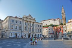 Touristic town Stock Photography