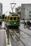 Tourist Tram 35 in Melbourne in Australia stock photos