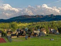 Touristic village scene Stock Image