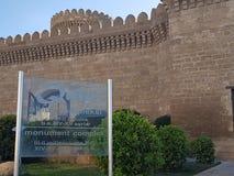 Touristisch u. x22; Qala& x22; Schloss stockfoto