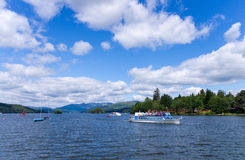 Touristische Boote Lizenzfreies Stockfoto