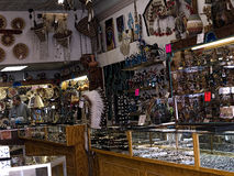 Touristische Einzelteile in Silverton eine alte silberne Bergbaustadt im Staat Colorado USA Stockfoto