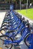 Touristische Fahrräder Stockbild