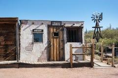 Touristische Falle, Gefängnis und Sheriffbüro Stockbild