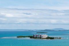 Touristische kleine Insel in Puerto Rico lizenzfreies stockfoto