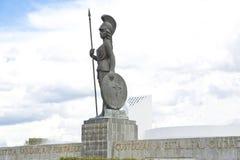 Touristische Monumente der Stadt von Guadalajara stockbild