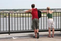 Touristische Paare stockfoto