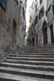 Touristische Stadt durch das Adratic Meer - Sibenik, Kroatien Stockbild