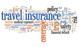 Touristische Versicherung vektor abbildung