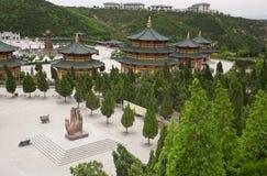 Touristischer Bereich Nanshan stockfotografie