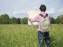 Touristischer Mannberg Lizenzfreie Stockfotos