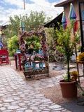 Touristischer Shop und Café in Albuquerque-New Mexiko Lizenzfreie Stockfotos