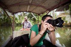 Touristisches Fotografieren lizenzfreies stockfoto