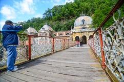 Touristisches nehmendes Foto lizenzfreie stockfotografie