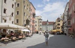 Touristisches Rattenberg, Tirol, Österreich Lizenzfreie Stockfotos
