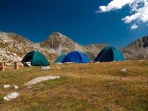Touristisches Zelt Stockbild