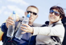 Tourists Royalty Free Stock Photography