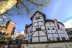 The Globe Theatre, London, UK royalty free stock images