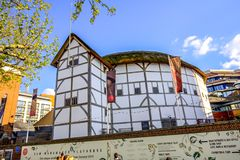 The Globe Theatre, London, UK stock photography