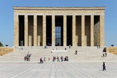 Ataturk mausoleum Royalty Free Stock Photography