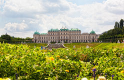 Tourists in the Belvedere, Vienna, Austria Stock Photos
