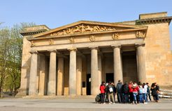 Tourists in Berlin, Germany Stock Photo
