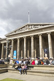 Tourists at the British Museum Royalty Free Stock Photos