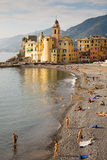 Tourists, Camogli Stock Photos