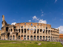 Tourists Colosseum Rome Italy Royalty Free Stock Photography