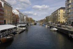 TOURISTS IN COPENHAGEN Stock Image
