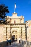 Town Gate, Mdina. Stock Photos